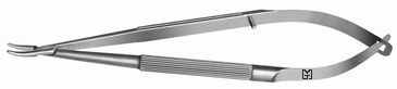 Barraquer Needle Holder, curved 125 mm